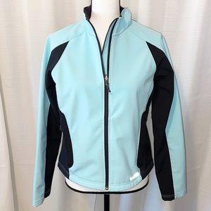 L.L. Bean blue/black fleece lined jacket Medium